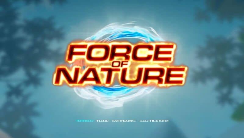 Force of Nature Slot Logo Wizard Slots