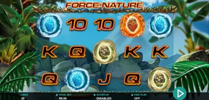 Force of Nature Slot win