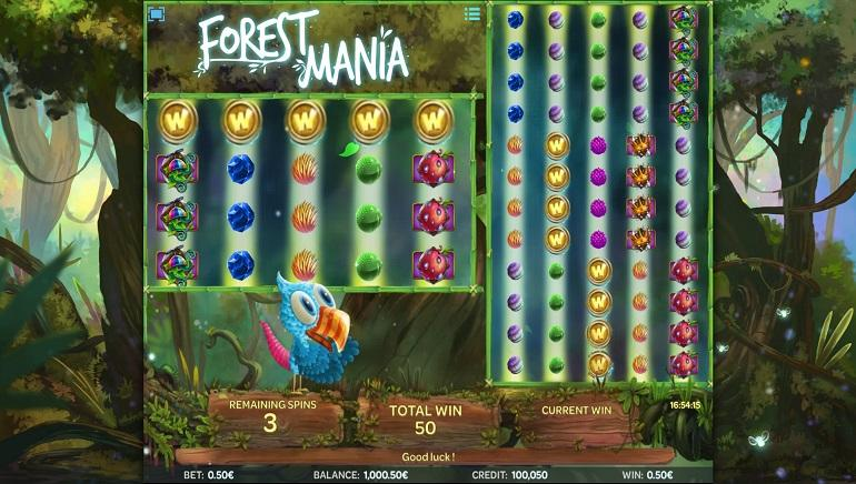 Forest Mania online slots