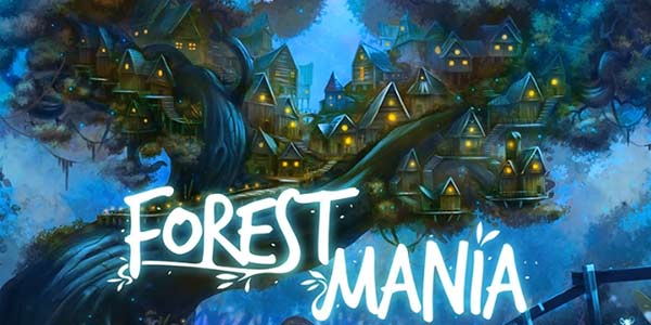 Forest Mania online slots game logo