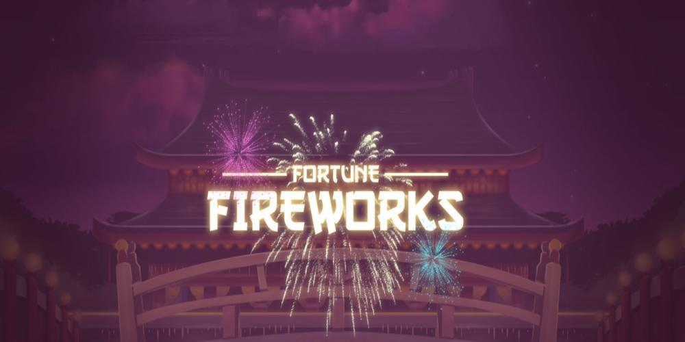 Fortune Fireworks Slot Logo Wizard Slots