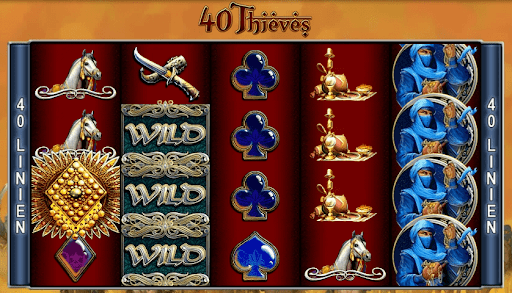 Forty Thieves Slot Wizard Slots