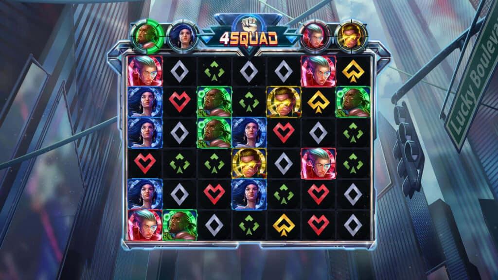 4 Squad Online Slots