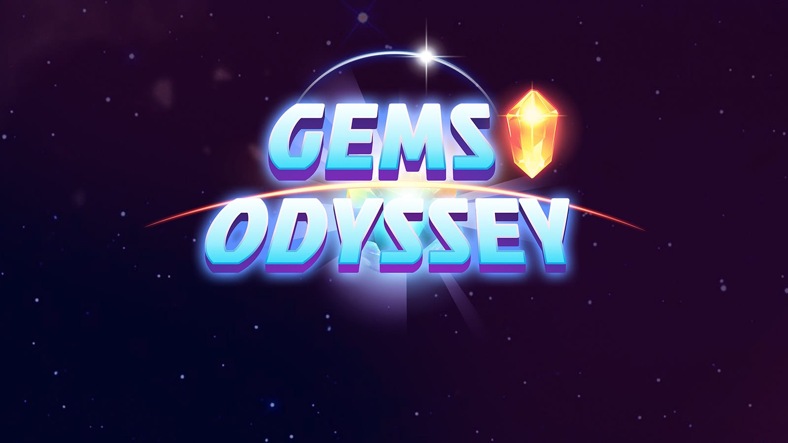 Gems Odyssey online slots game logo