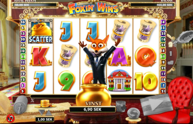 Foxin' Wins Gameplay