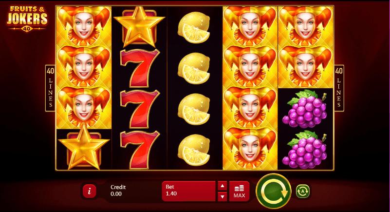 5 Line Jokers Slot Machine