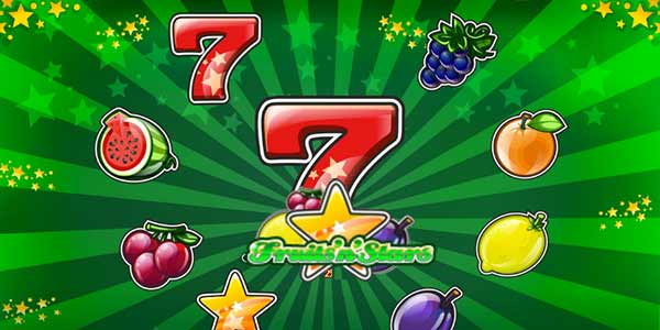Fruits n' Stars online slots game logo