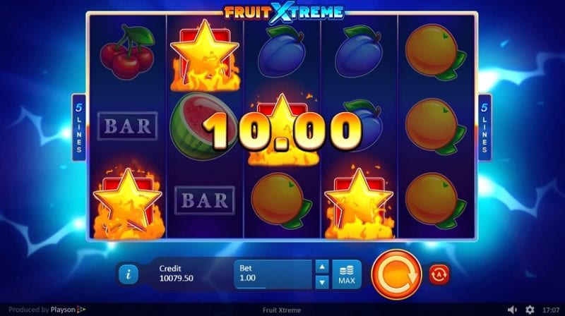 Fruit Xtreme: 5 Lines Win