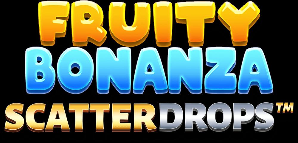 Fruity Bonanza Scatter Drops Slot Logo Wizard Slots
