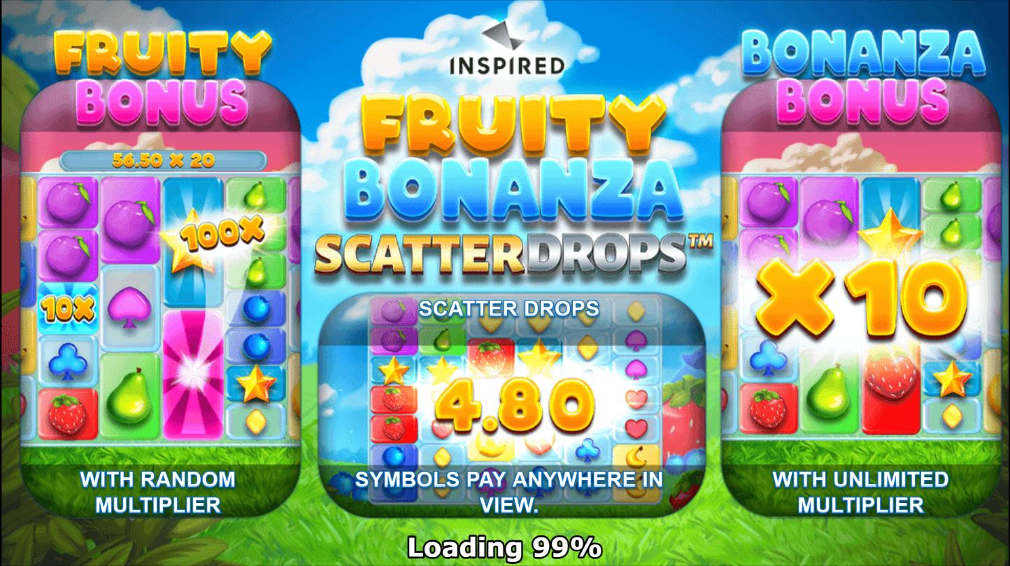 Fruity Bonanza Scatter Drops Slots Features