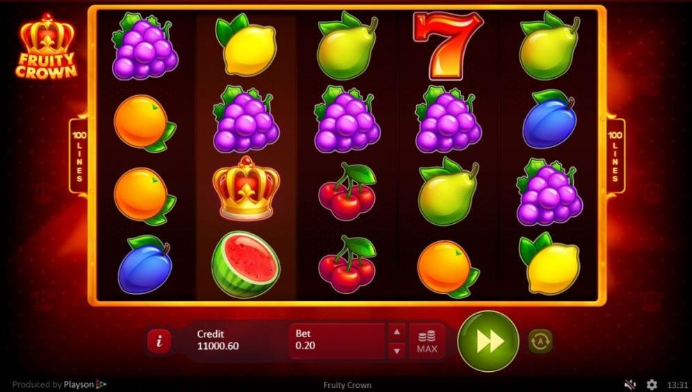 Fruity Crown Free Slots