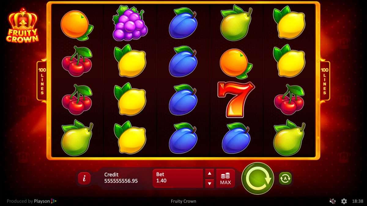 Fruity Crown Slot UK