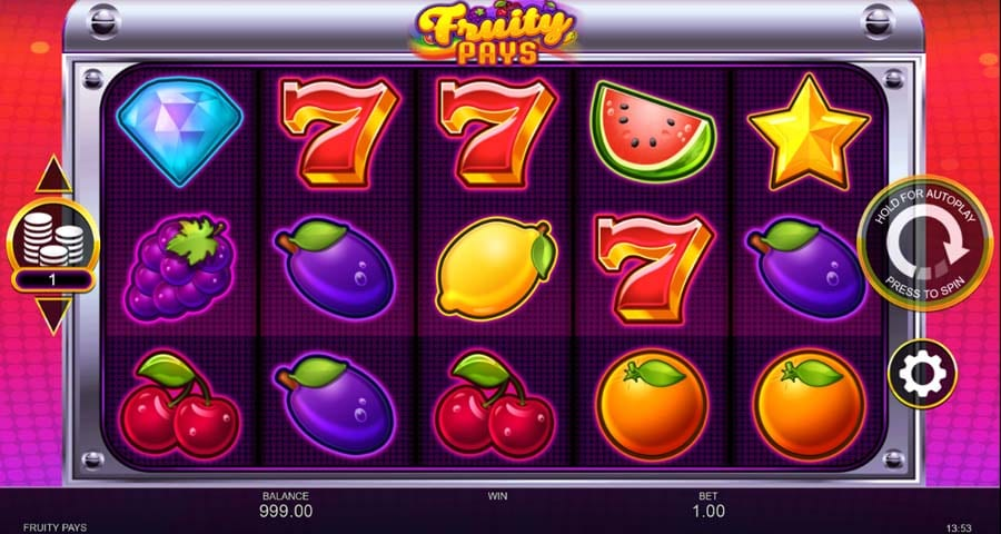 Fruity Pays Slots Game