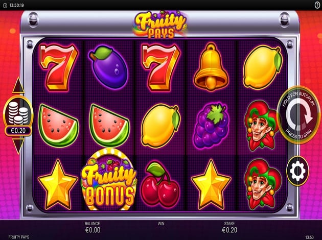 Fruity Pays Slot Game