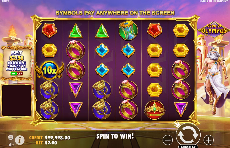 Gates of Olympus Slots Gameplay
