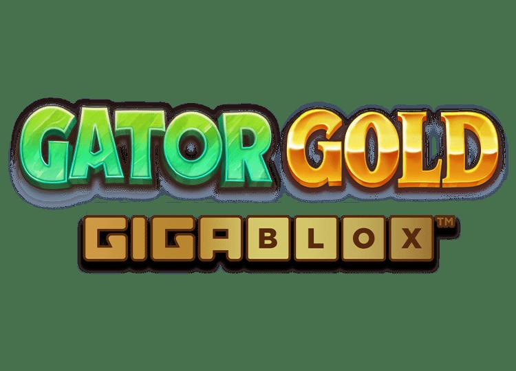 Gator Gold Gigablox Slot Logo Wizard Slots