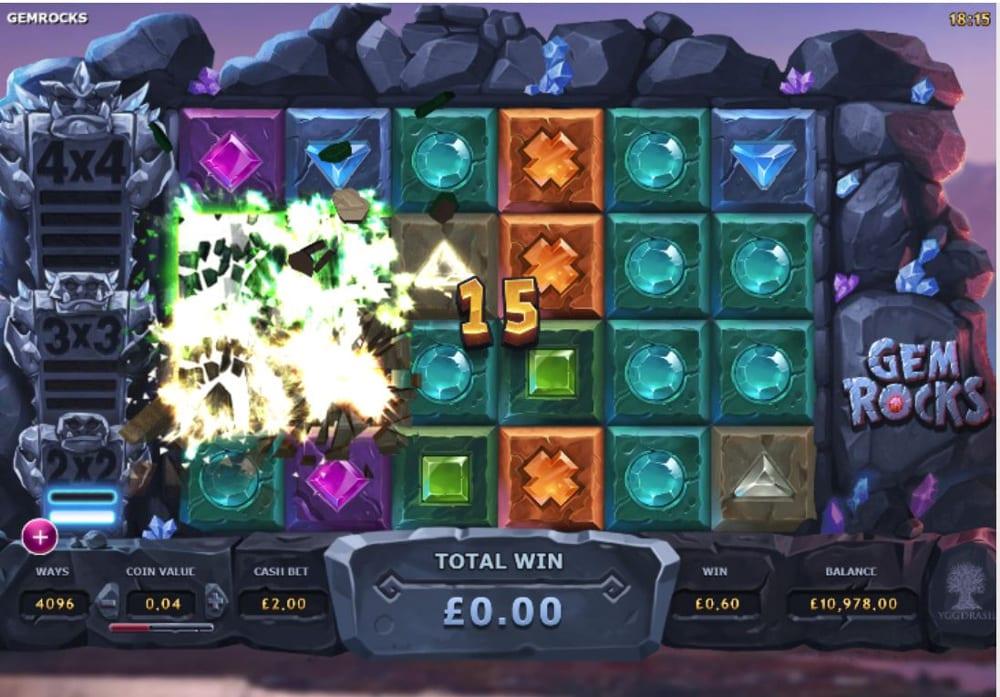 gem rocks gameplay 2