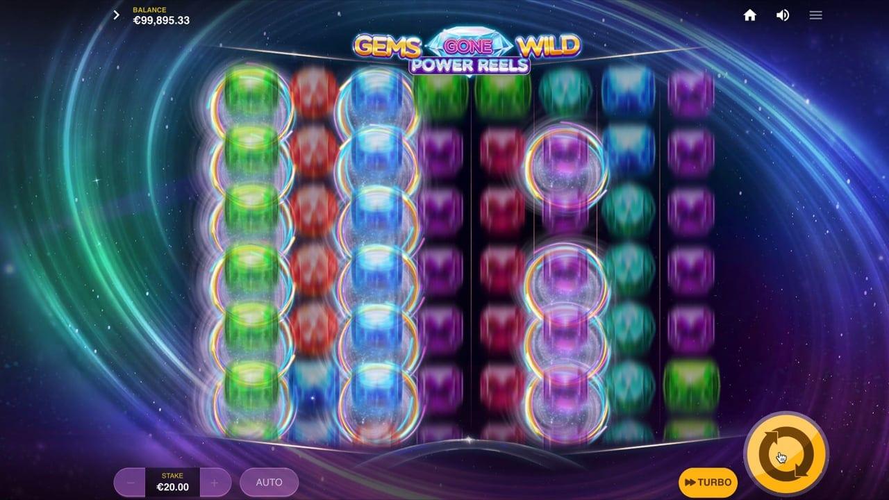 Gems Gone Wild: Power Reels Slot