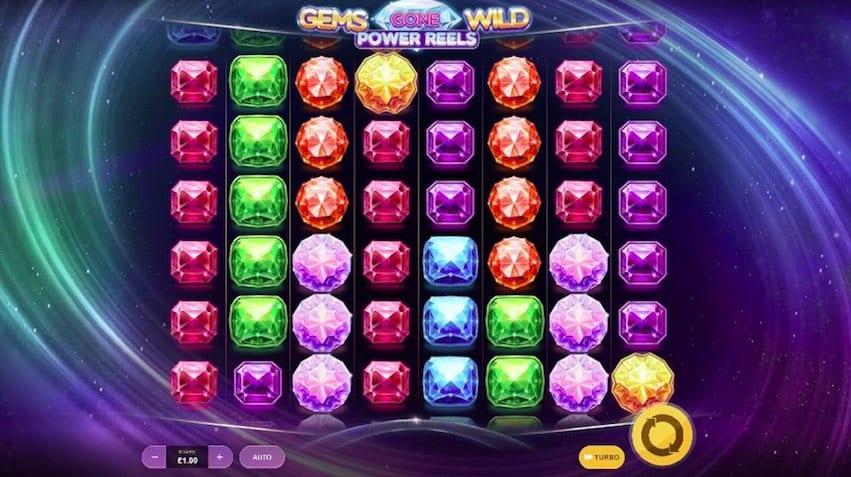Gems Gone Wild: Power Reels Slots