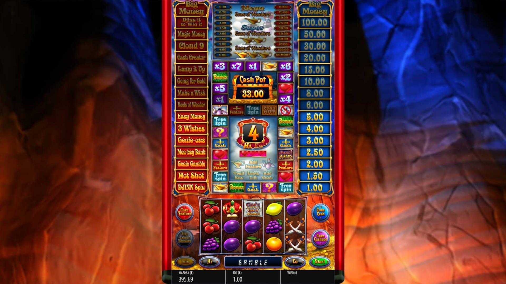 Genie Jackpots Cave of Wonders Slots