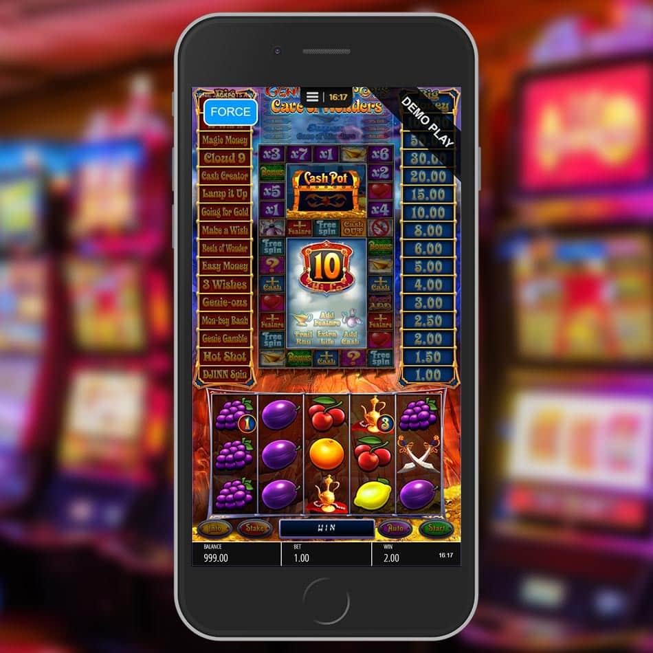 Genie Jackpots Cave of Wonders Slot Game