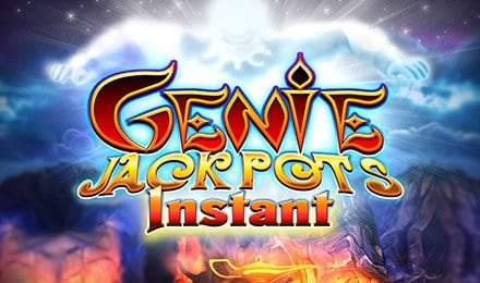 Genie Jackpot Instant Logo Wizard Slots