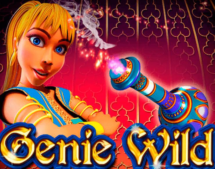 Genie Wild online slots game logo