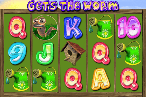 Gets The Worm Slots