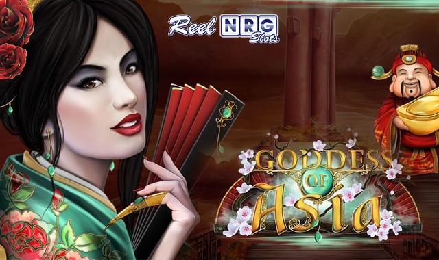 Goddess of Asia Slot Logo Wizard Slots