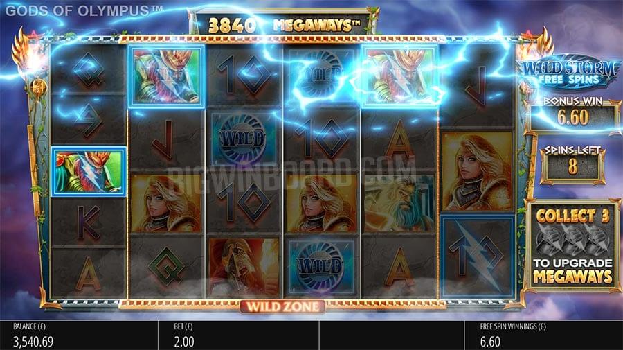 Gods Of Olympus Megaways Slots