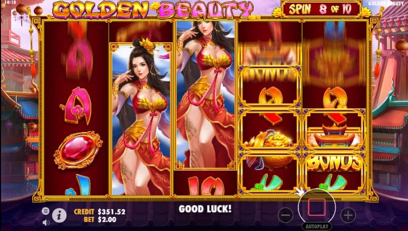 Golden Beauty Game Play