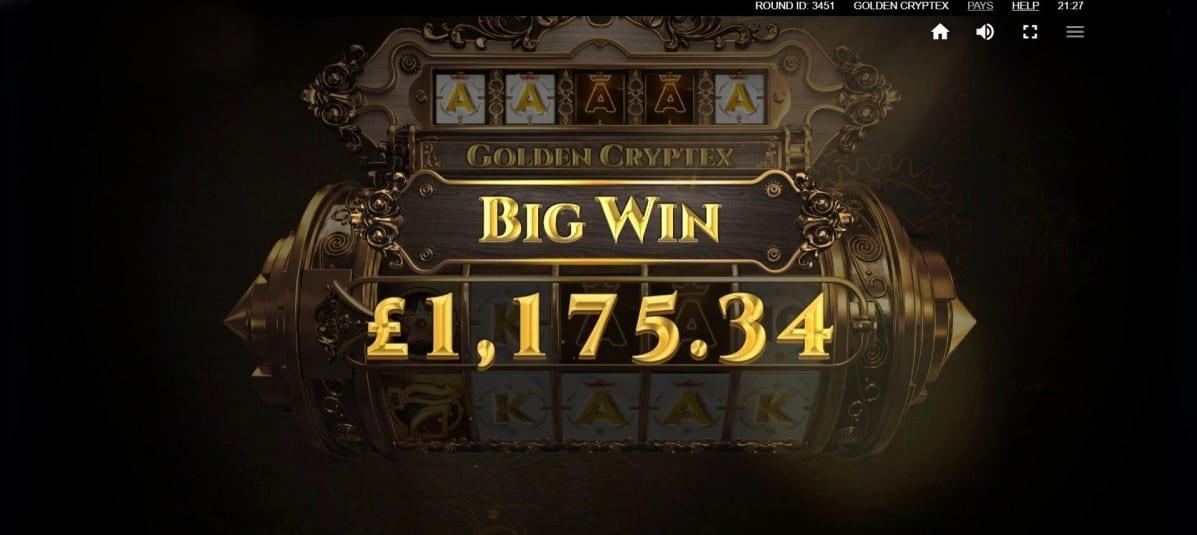 Golden Cryptex Big Win