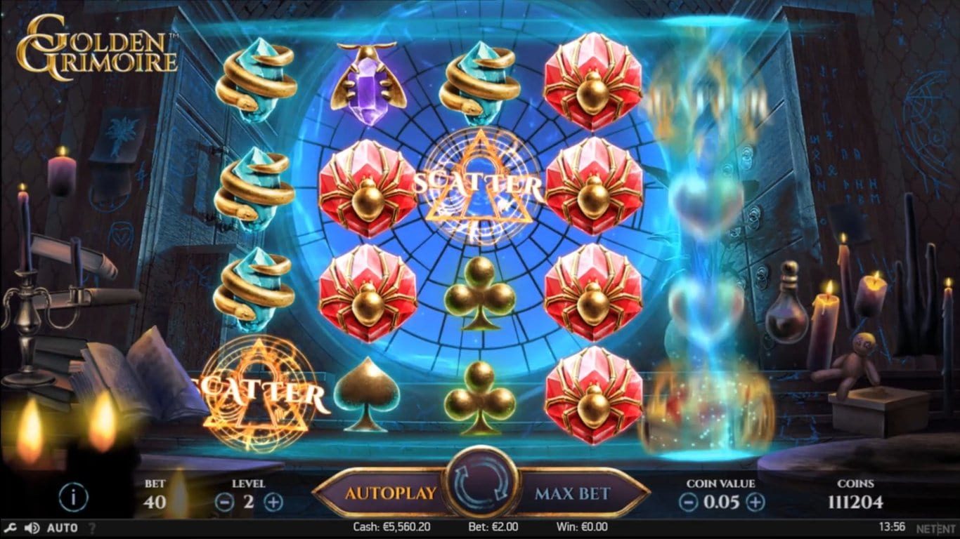 Golden Grimoire Slots game