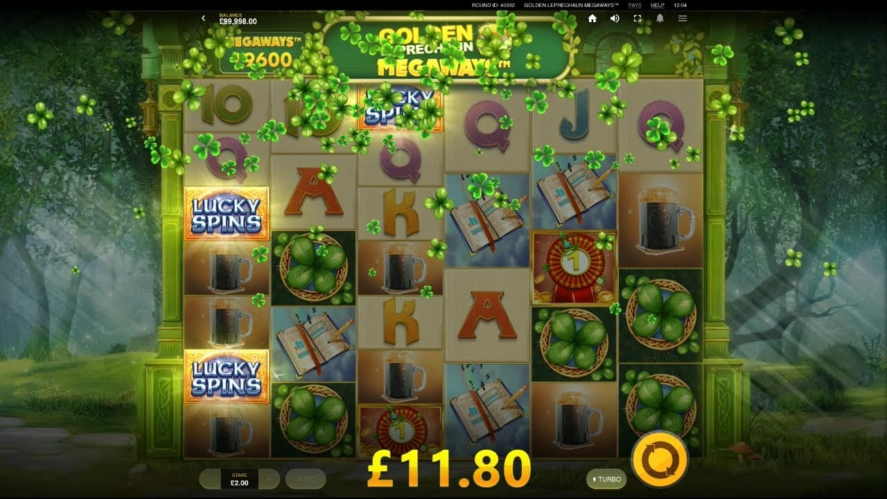 golden leprechaun megaways Slots Game