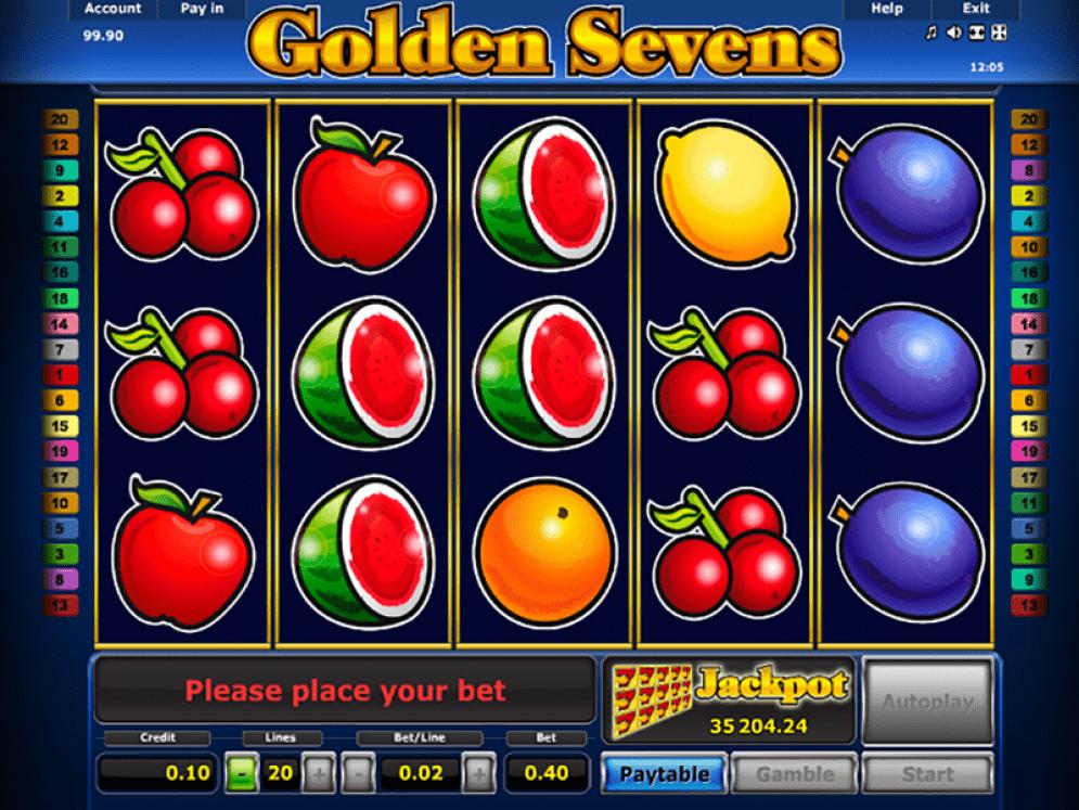 Golden 7s Slot Game
