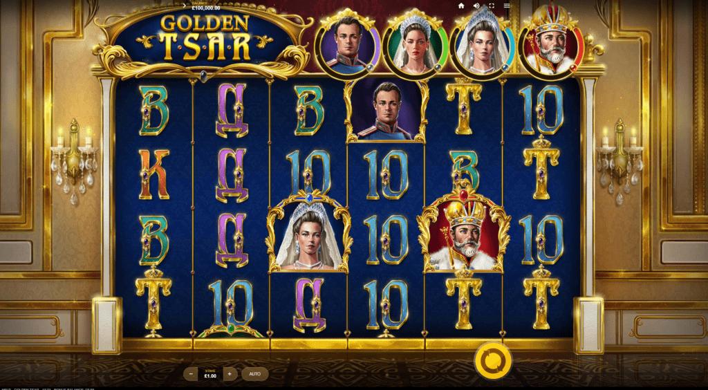 Golden Tsar Slots Reels