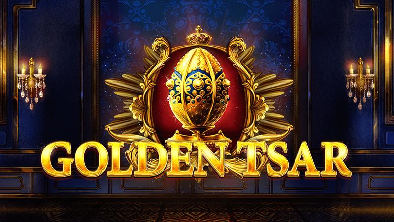 Golden Tsar Slot Logo Wizard Slots