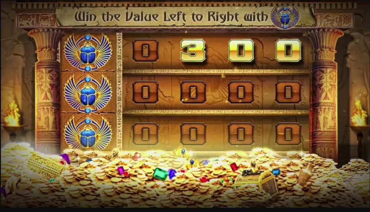 golden vault of the pharaohs casino game
