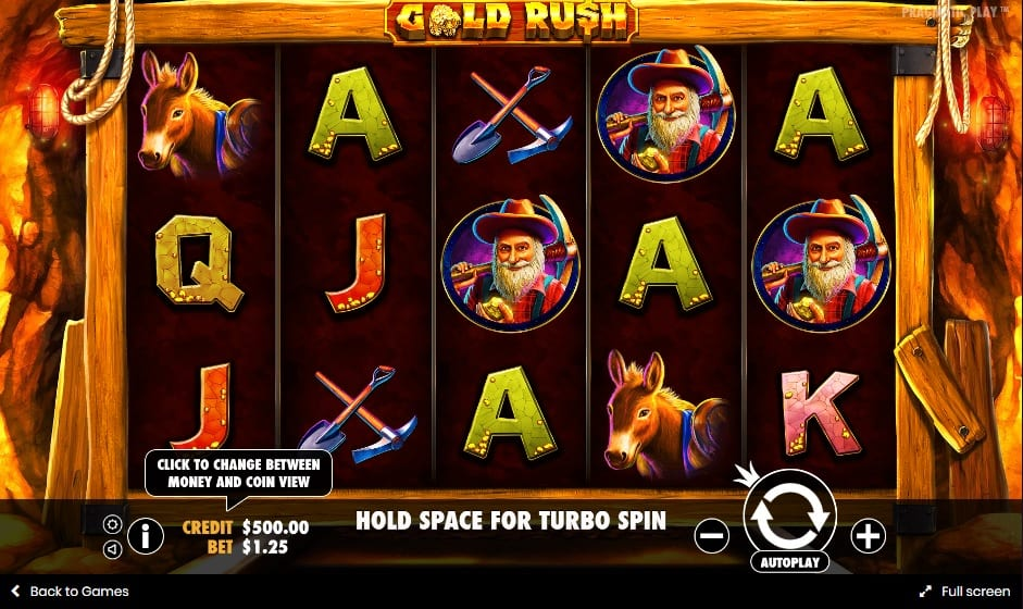 gold rush! gameplay 2