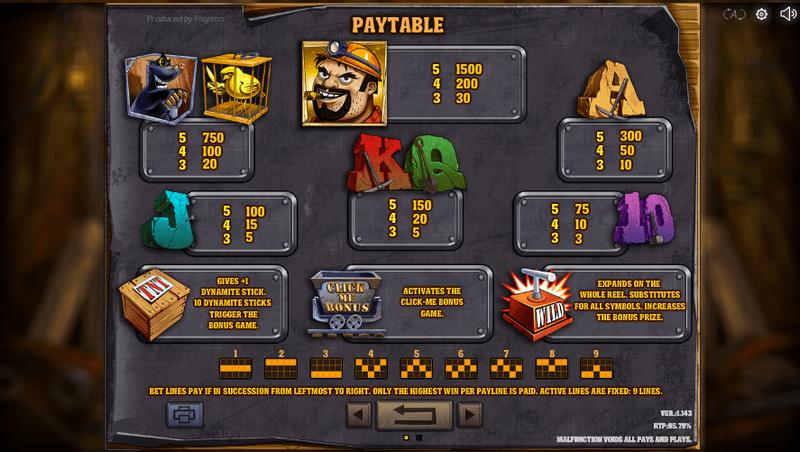 Gold Rush Slot Online