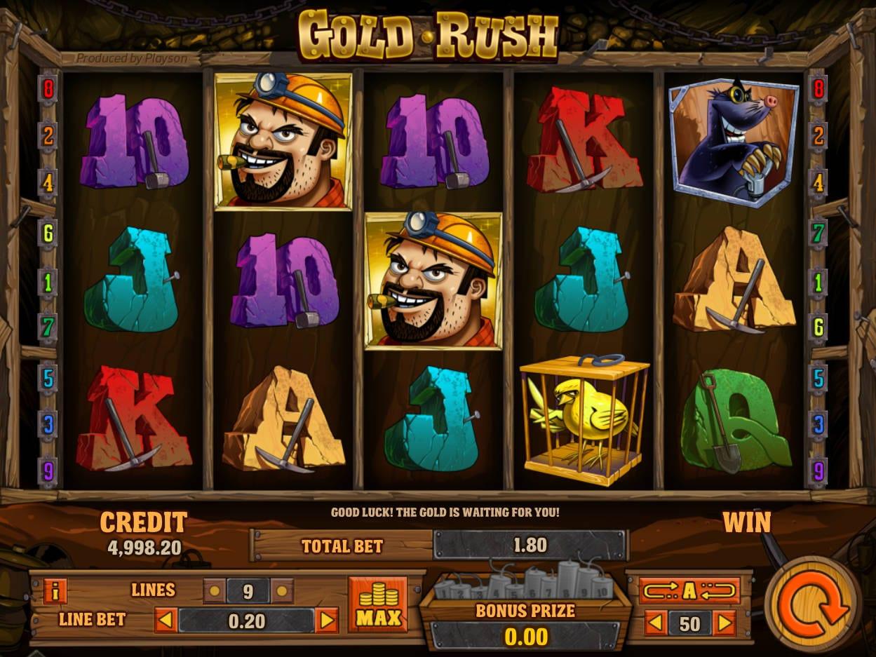 Gold Rush Slots Game