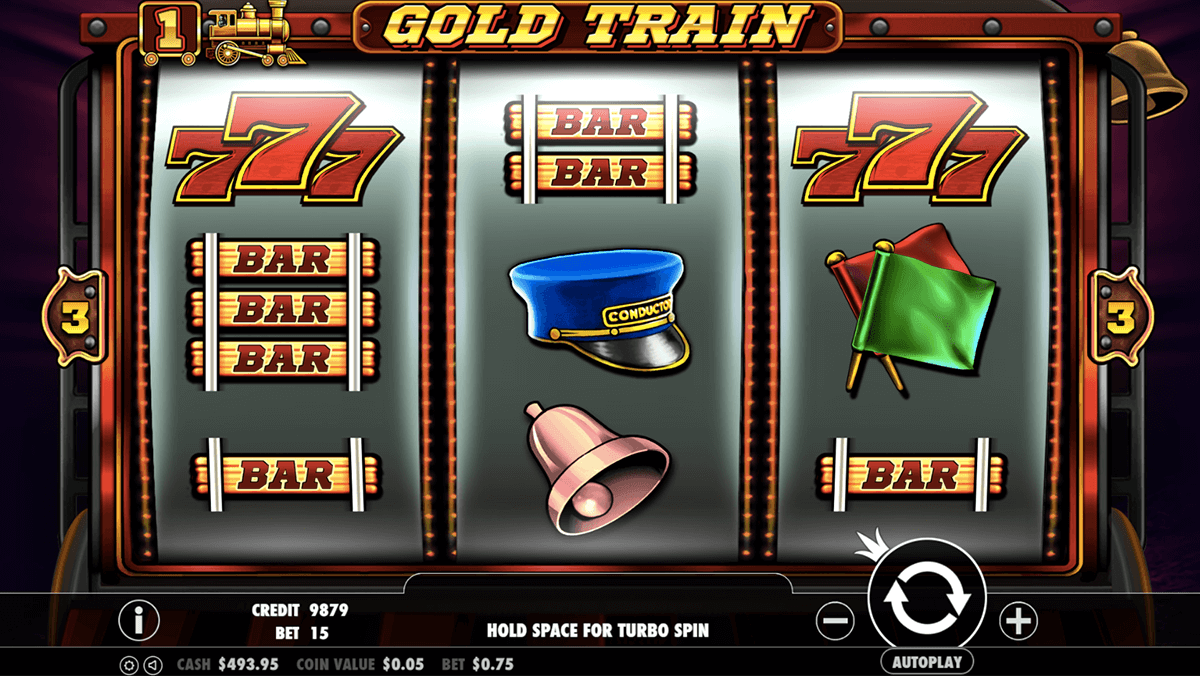 gold train gameplay