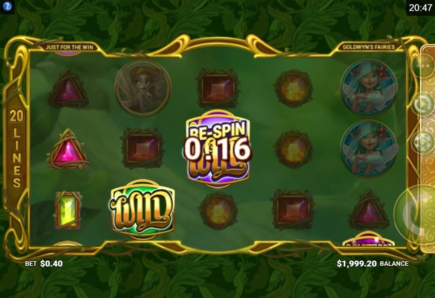 Goldwyn's Fairies online slots game info