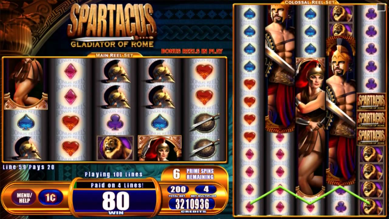 Gladiator of Rome Slots Game gameplay