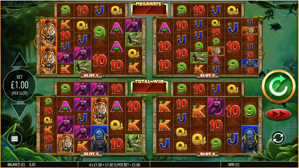 Gorilla Gold Megaways Slot Game