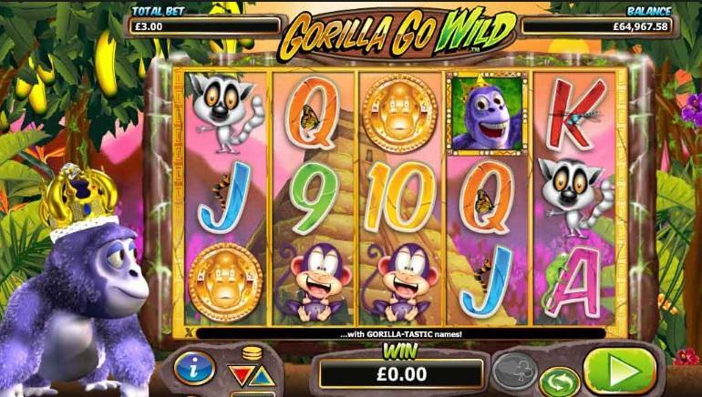 Gorilla Go Wild Slot game