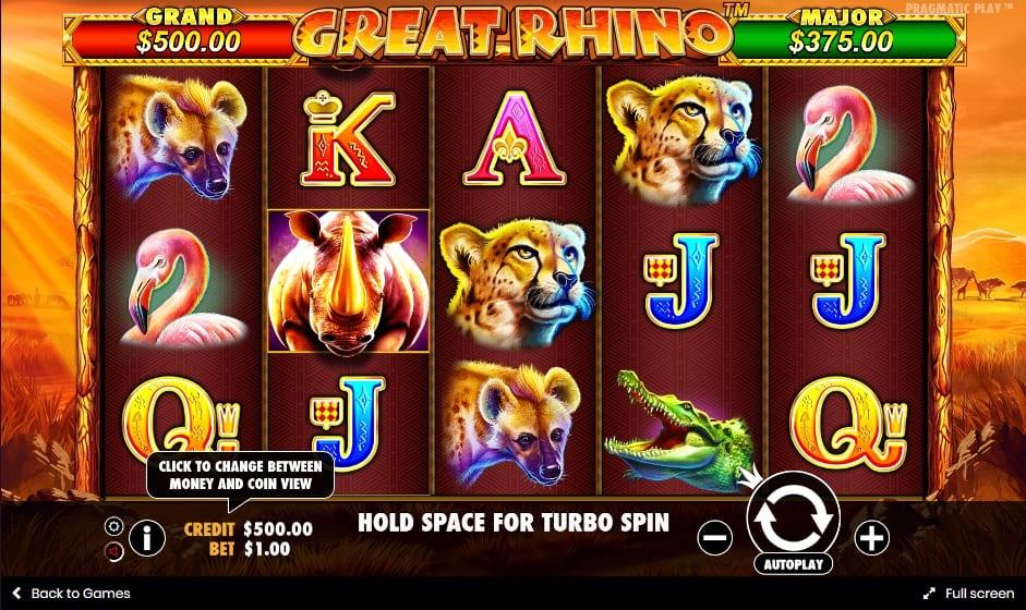 great rhino gameplay 2