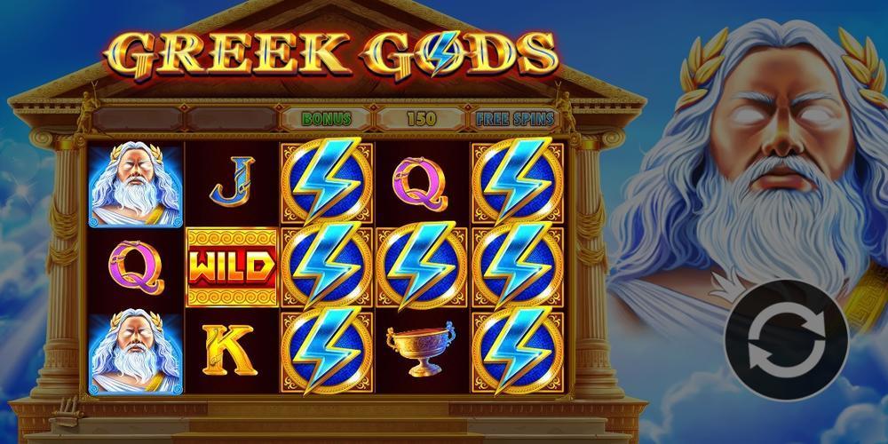 Greek Gods Slots online