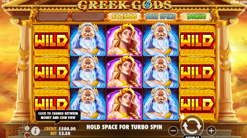 Greek Gods Game Play