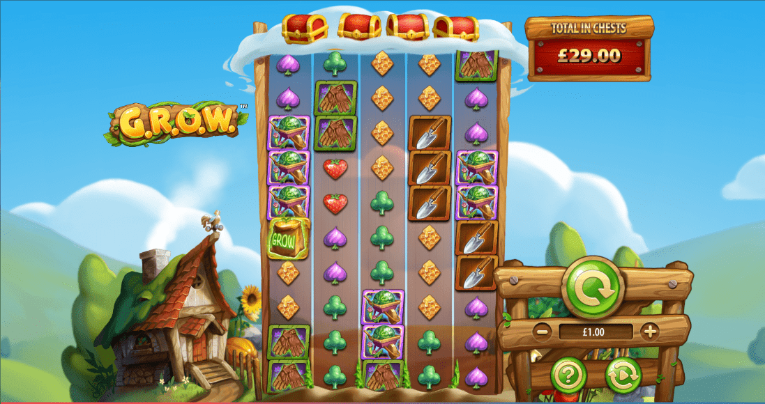 G.R.O.W Slot Wizard Slots Online